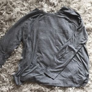 Classic Grey Top from Zara